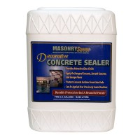 MasonrySaver Decorative Concrete Sealer 5 Gallon